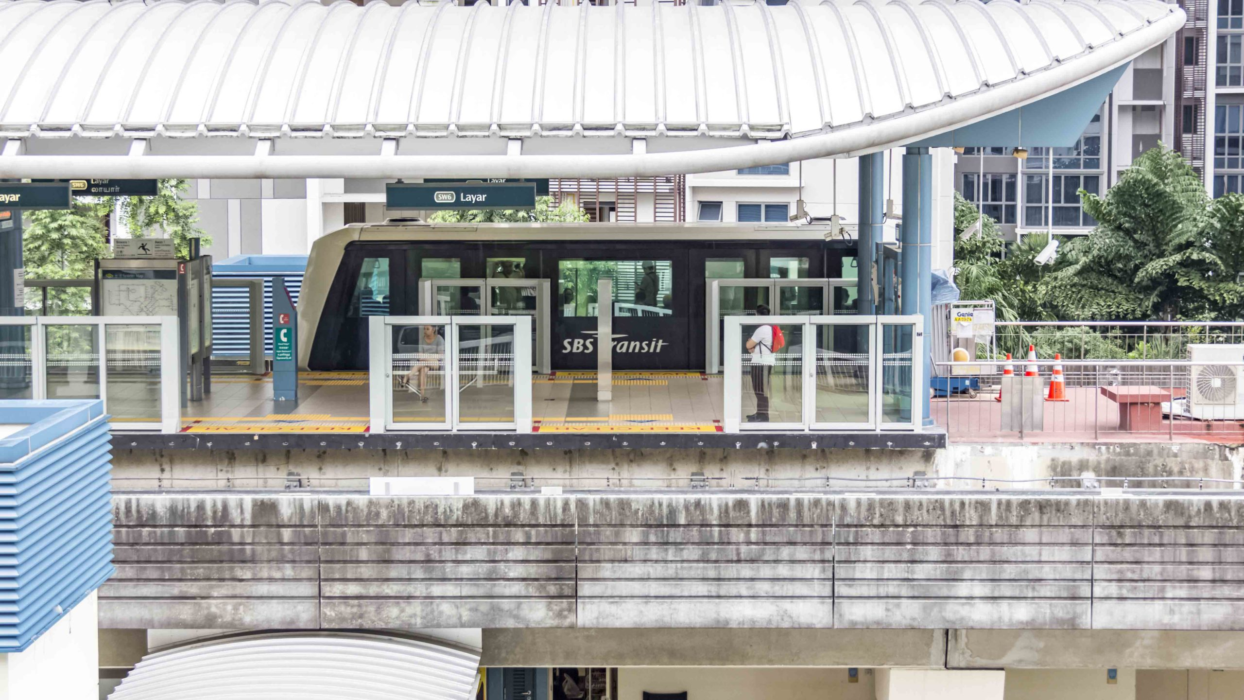 C8123 – Design & Build Fixed Barriers for Light Rail Transit Stations gallery
