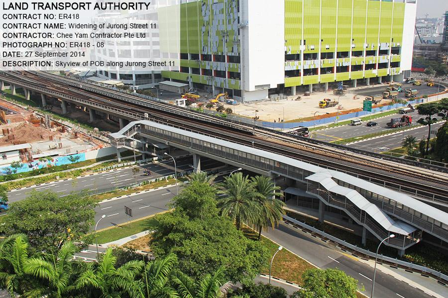 ER418 – Widening of Jurong East Street 11 gallery