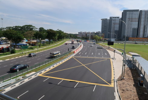 ER472 – Junction Enhancement at Bukit Batok Road Between PIE and Bukit Batok West Ave 3